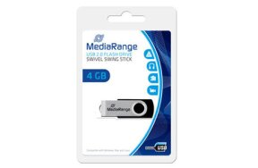 MEDIA RANGE USB FLASH DRIVE 4GB